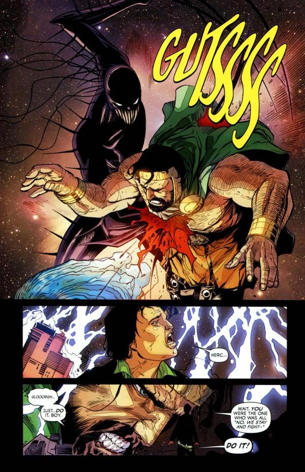 hercules bị Chaos King tấn công