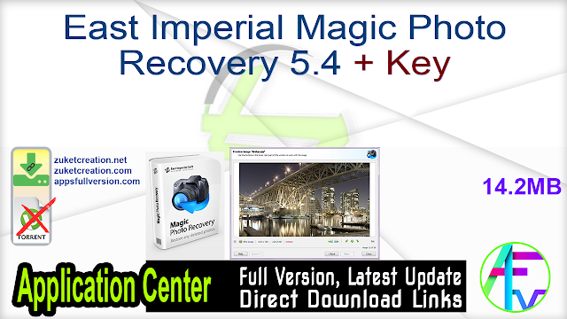 East Imperial Magic Photo Recovery 5.4 + Key