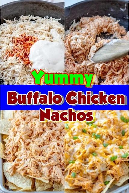 #Buffalo #Chicken #Nachos