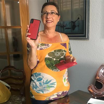 funda-iphone-x-cuero-dreem-rojo