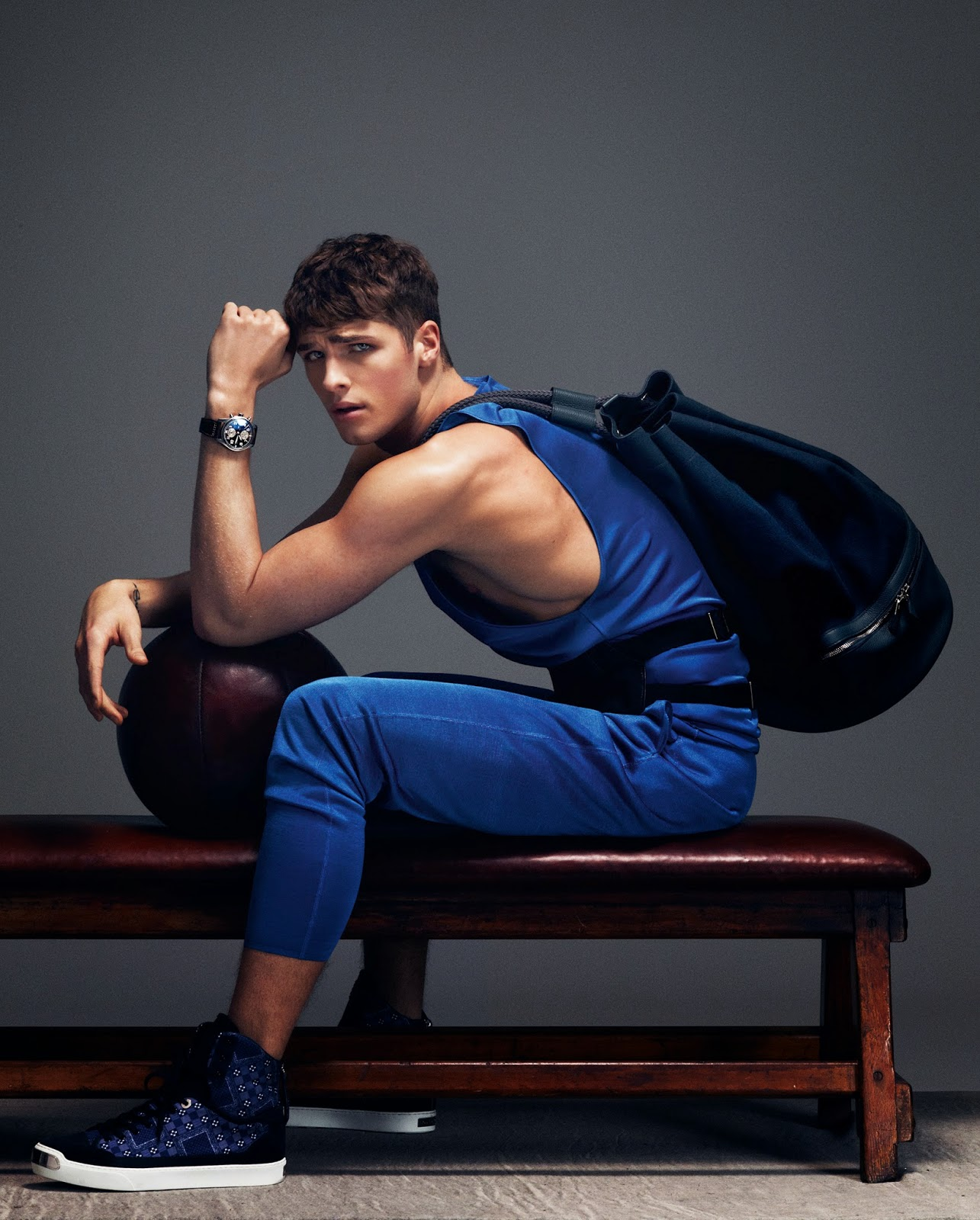 Ted Evans Photography: EDITORIAL: Sportswear Inspired Menswear