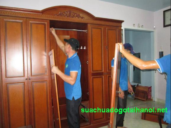 Dịch vụ tháo lắp giường tủ tại nhà