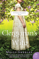 Book cover: The Clergyman's Wife by Molly Greeley