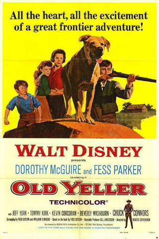 Old Yeller [1957] [DVDR] [NTSC] [Latino]