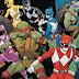 Quadrinho de Power Rangers e Tartarugas Ninja esgota em todas as lojas