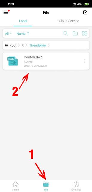 Cara Convert File AutoCAD 2018 ke 2007