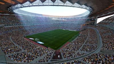 PES 2020 Stadium Wanda Metropolitano [ Reworked Lightning ]