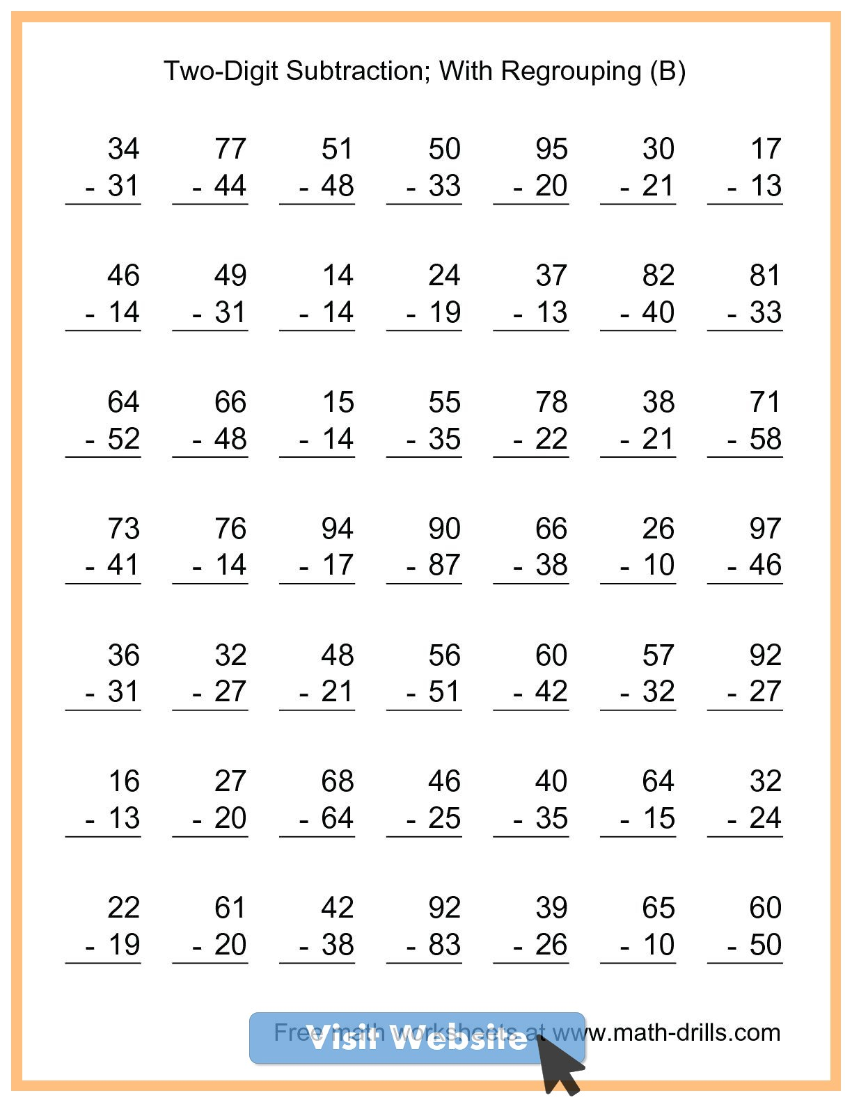 small resolution of addition worksheets first grade math sheets