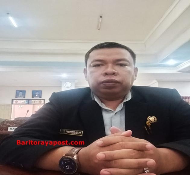 Anggota DPRD Bartim, Wahyudinnoor: Seharusnya Pihak Eksekutif Yang Diundang Memberikan Alasan Kenapa Tidak Hadir?