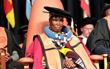 Iconic Ndebele Artist Esther Mahlangu Receives Honorary Doctorate