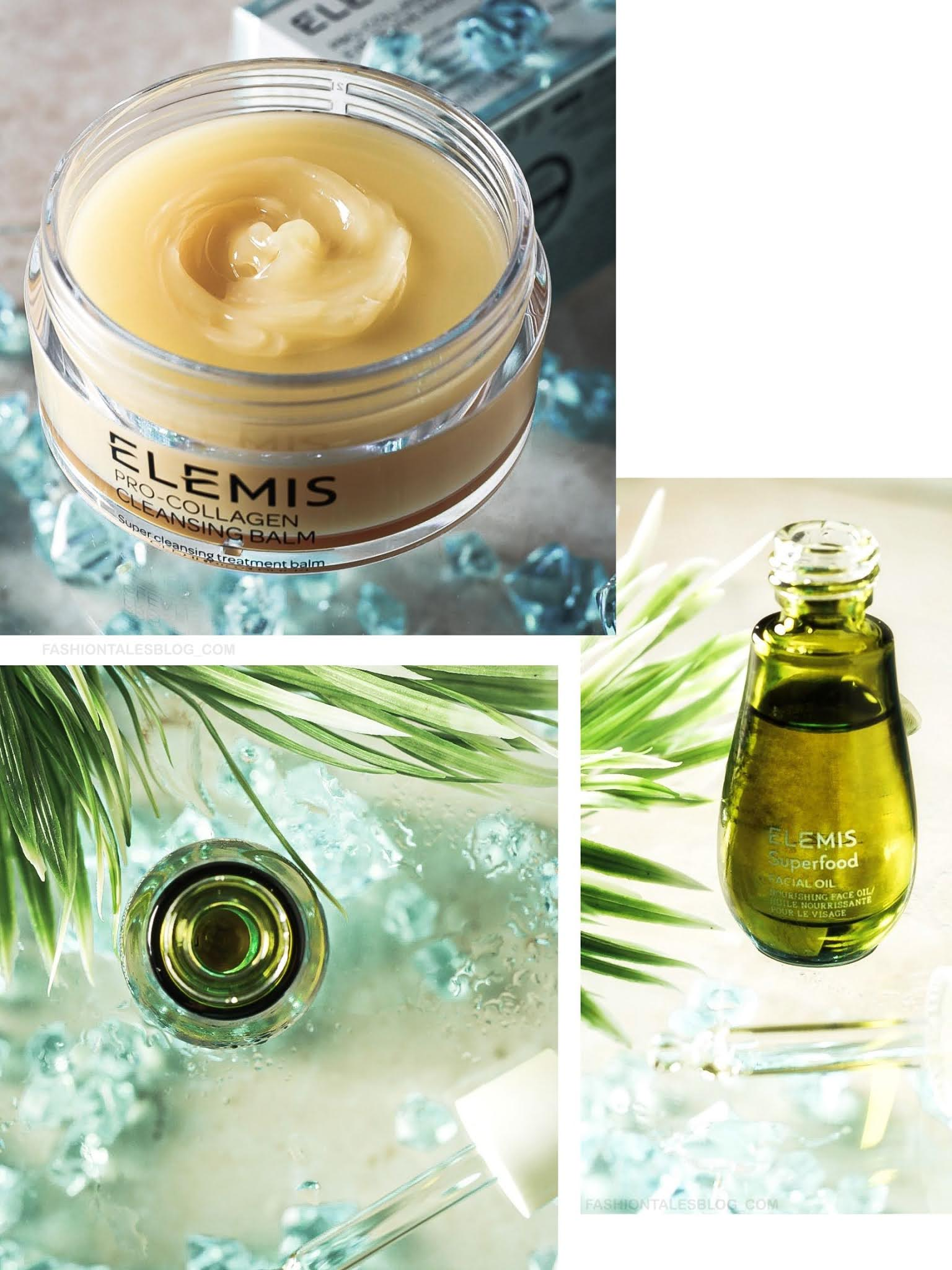 FACE OIL AND CLEANSING BALM COLLAGE