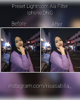 Preset Lightroom Ala Filter Iphone Terbaru DNG