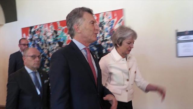 Reino Unido levanta prohibición de ventas de armas a Argentina