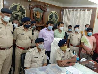 मोतिहारी पुलिस के गिरफ्त में आया शातिर अपराधी राहुल साहनी और उसका गैंग, बंगाल से दबोचा गया मास्टरमाइंड