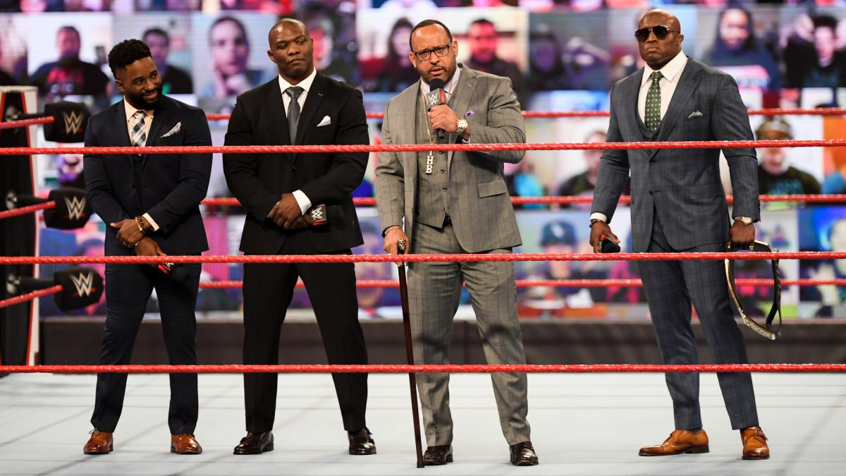 The Hurt Business on WWE RAW