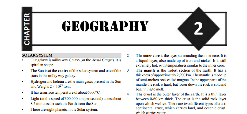 500 SSC CGL and CHSL Previous Year Geography Questions PDF Download