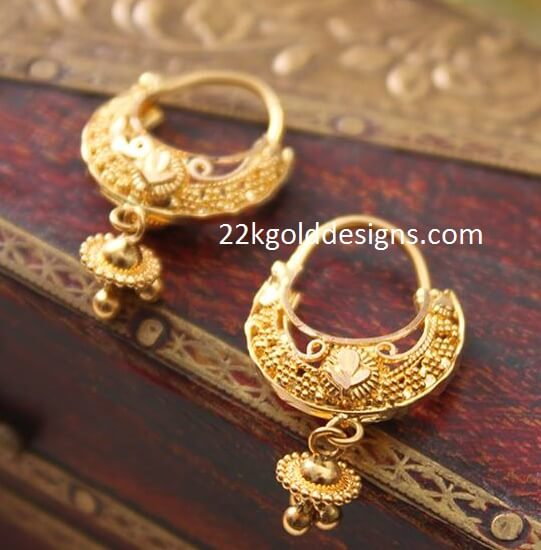 Daily Wear Gold Balis