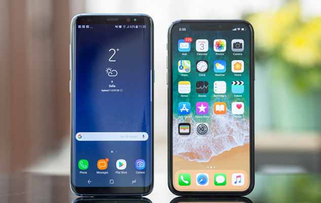 Perbandingan iPhone X dan Galaxy S9