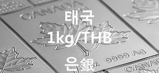 오늘 태국 (타이랜드) 은 1 키로(kg) 시세 : 99.99 은(銀) 1 키로 (1kg) 시세 실시간 그래프 (1kg/THB 태국 바트)