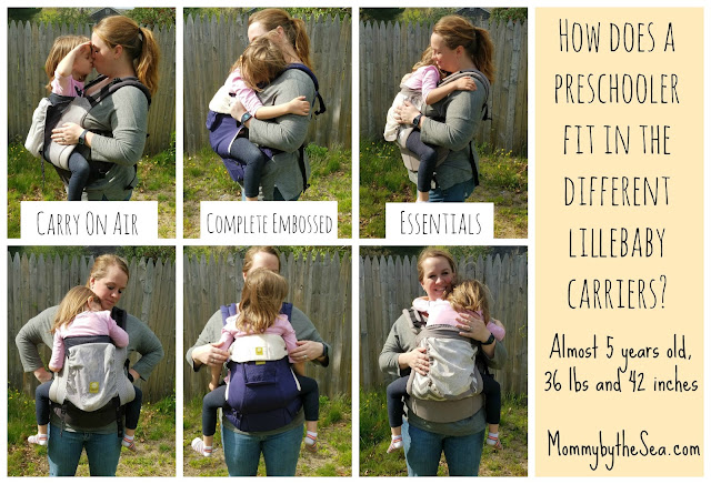 Can I still carry my preschooler in a Lillebaby carrier?