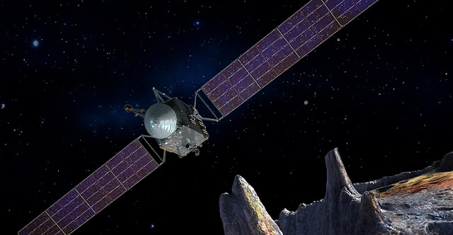 Artist's concept of the Psyche spacecraft. Image & Caption Credit: SSL/ASU/P. Rubin/NASA/JPL-Caltech