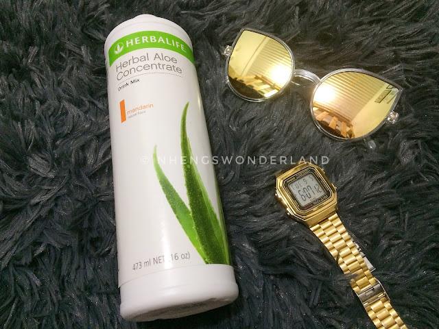 Herbalife Herbal Aloe Concentrate on Mandarin flavor