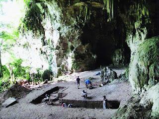 Objek Wisata Gua Harimau, Baturaja , Ogan Komering Ulu. Sumatera Selatan