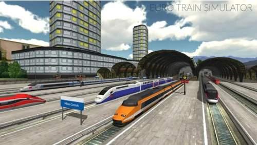 Euro Train Simulator Best Train Driving Games Free Download