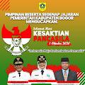Pemkab Bogor Ucapkan Selamat Hari Kesaktian Pancasila 2020