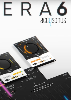 Cover dos plugins Accusonus - ERA 6 Bundle Pro 6.0.10 + Voice Changer 1.2.10