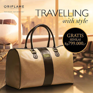 Promo TRAVELLING BAG Oriflame GRATIS - Super BC 200Bp