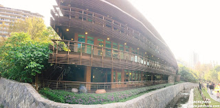 北投圖書館外觀