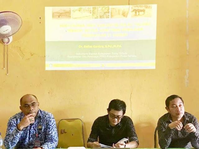Pemkab Dukung Tim Survei Objek Pemajuan Kebudayaan di Pulau Taliabu