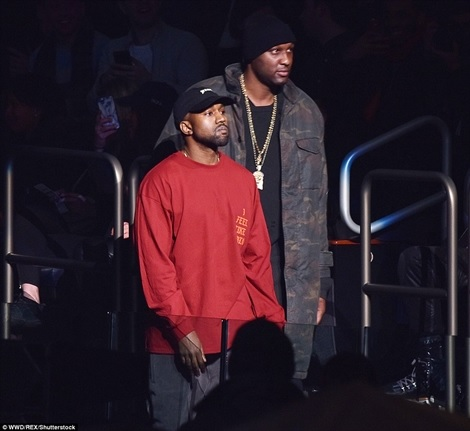Are They Back Together? Lamar Odom & Khloe Kardashian Spotted Flirting at Kanye's Show (Photos)