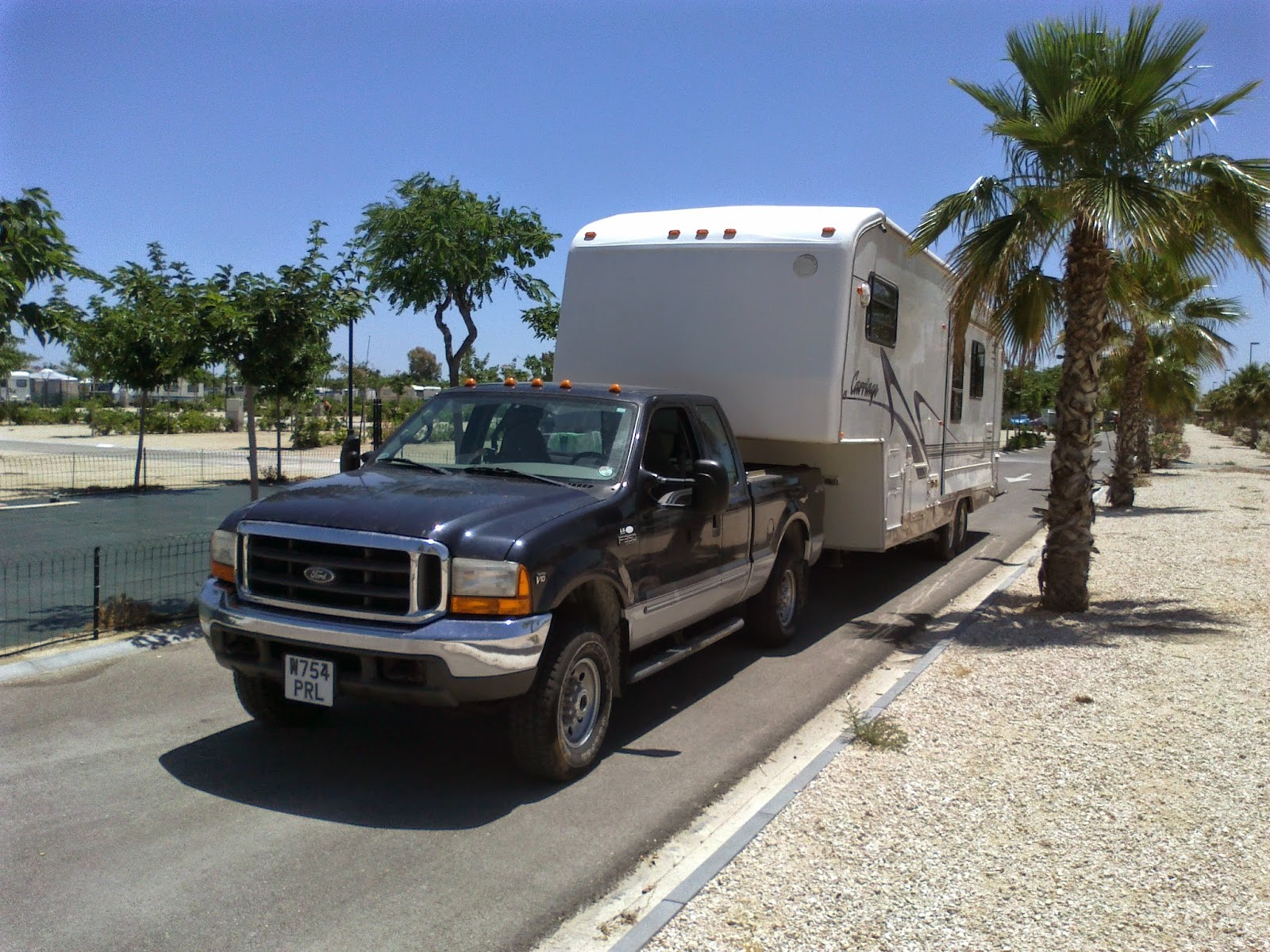 fifth wheel transport, Spain