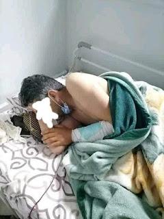 ايقاف الشاب بشير بتهمة الإعتداء بالعنف الشديد على مواطن ( صور الاعتداء)