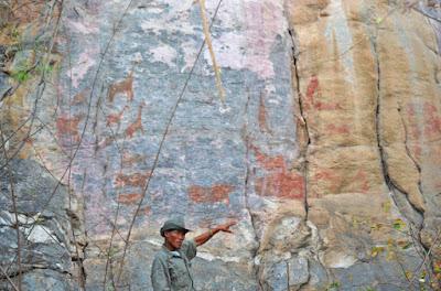 Pinturas rupestres Tsodilo - desierto Kalahari