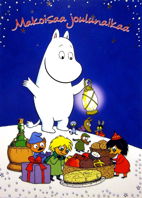 moomin christmas card