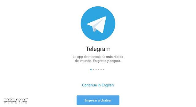 instalar telegram en googletv y androidtv