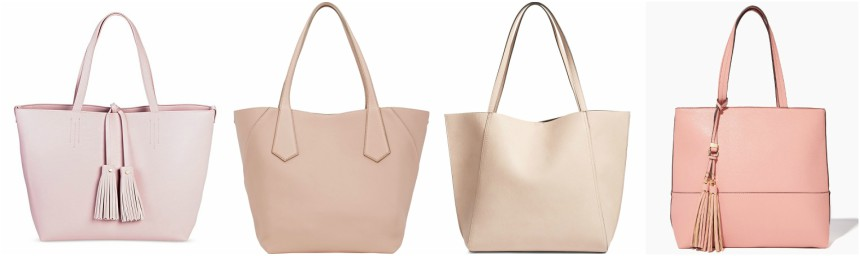 One of these totes is from Valextra for $2,600 and the other three are under $70. Can you guess which one is the designer tote?