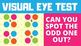 Visual Eye Test: Can you spot the Odd One Out?
