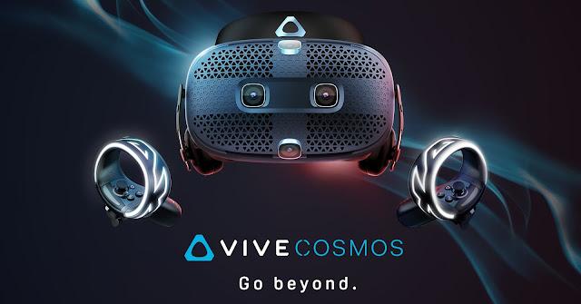 بالفيديو: إتش تي سي تكشف عن موعد إطﻻق HTC Vive Cosmos