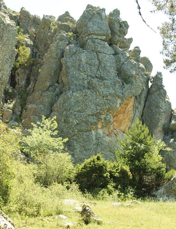 Zonas rocosas