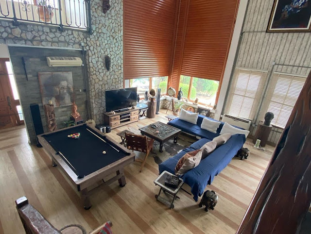 Plenty Money! Producer Kunle Afoloyan Releases Photos Of The Interior Of His Multi-Million Naira Mansion