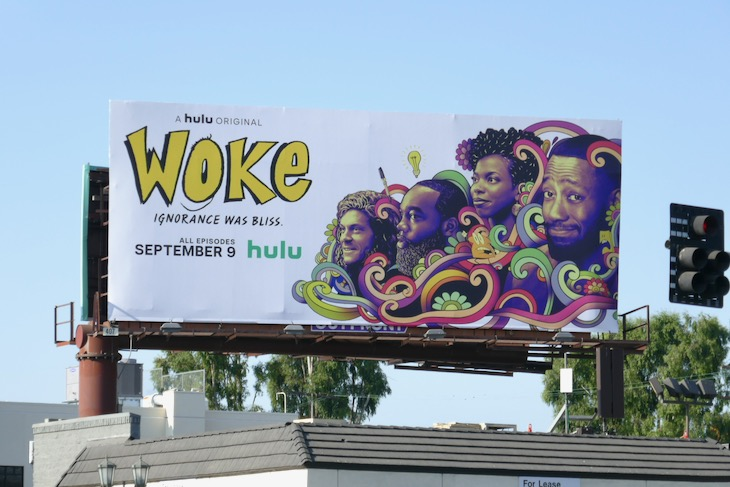 Woke season 1 billboard