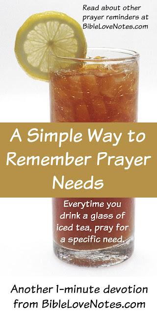 Simple Prayer Reminders