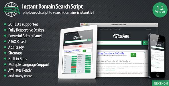 Script de pesquisa de domínio v1.4