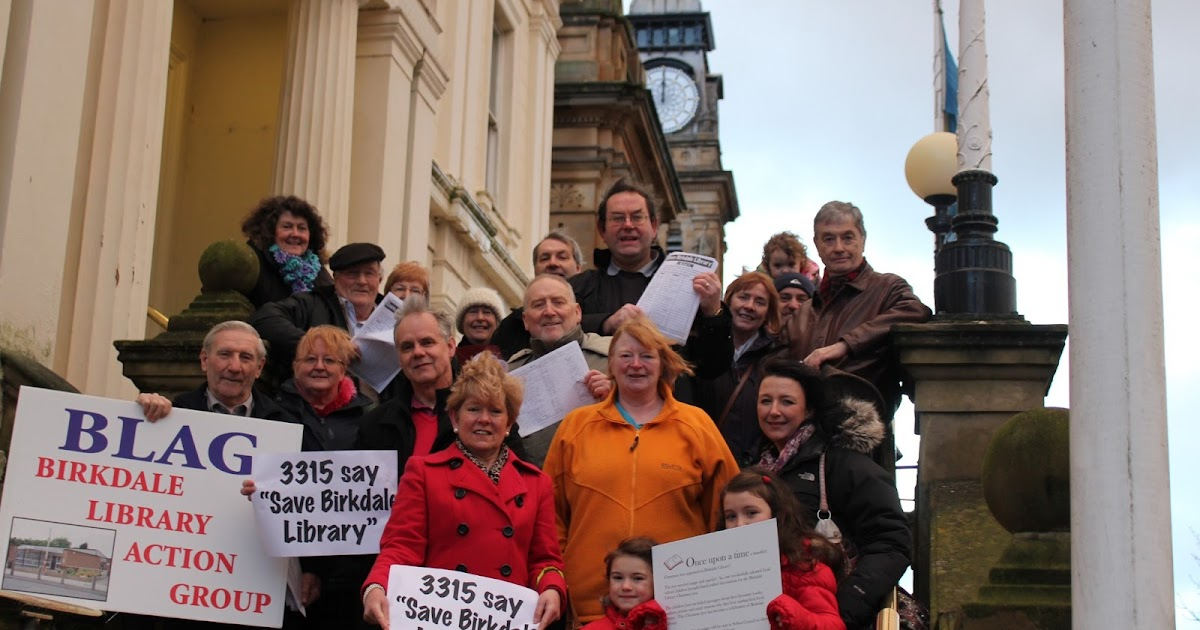 birkdale focus: LIBRARY CAMPAIGNERS PUT FORWARD PLAN TO ...
