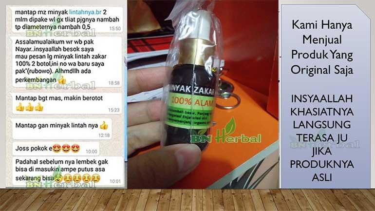 Minyak Lintah asli original di instagram