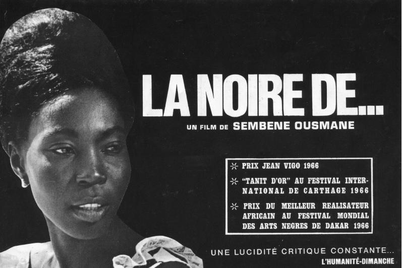 LE FILM: LA NOIRE DE... - SEMBENE OUSMANE ET MBISSINE THERESE DIOP